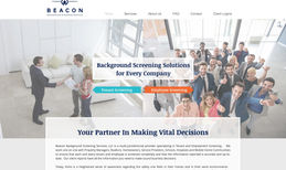 beaconbackground Full website redesign. Changed the layout and adde...