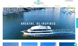 Beach Boutique Rentals Brand new website for this starting vacation renta...