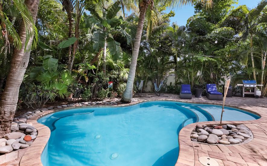 Poolside Oasis