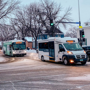 North Dakota in the Snow