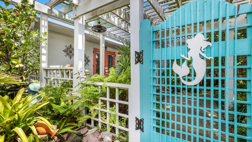 Bird of Paradise private deck