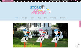 stork-mama Design of a new website including Ecwid e-commerce...