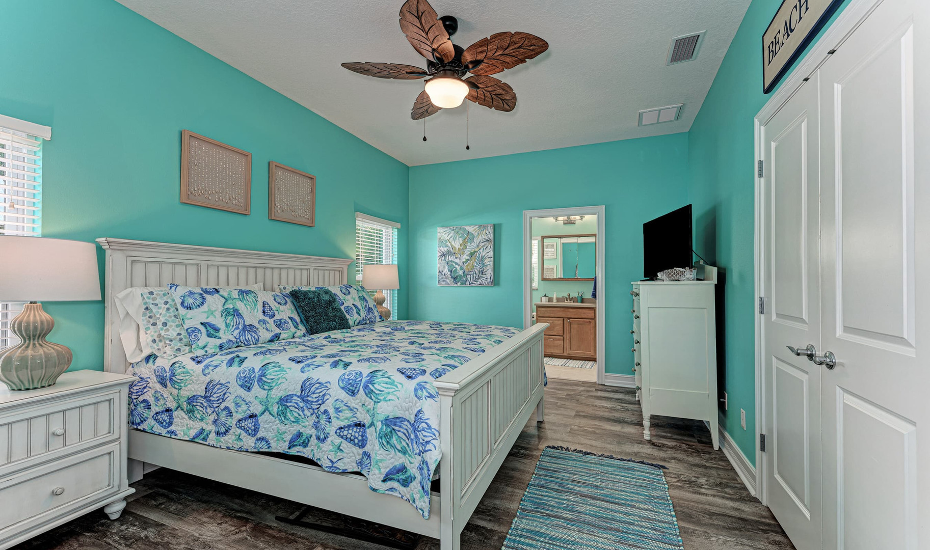 Master Bedroom with Ensuite Bath
