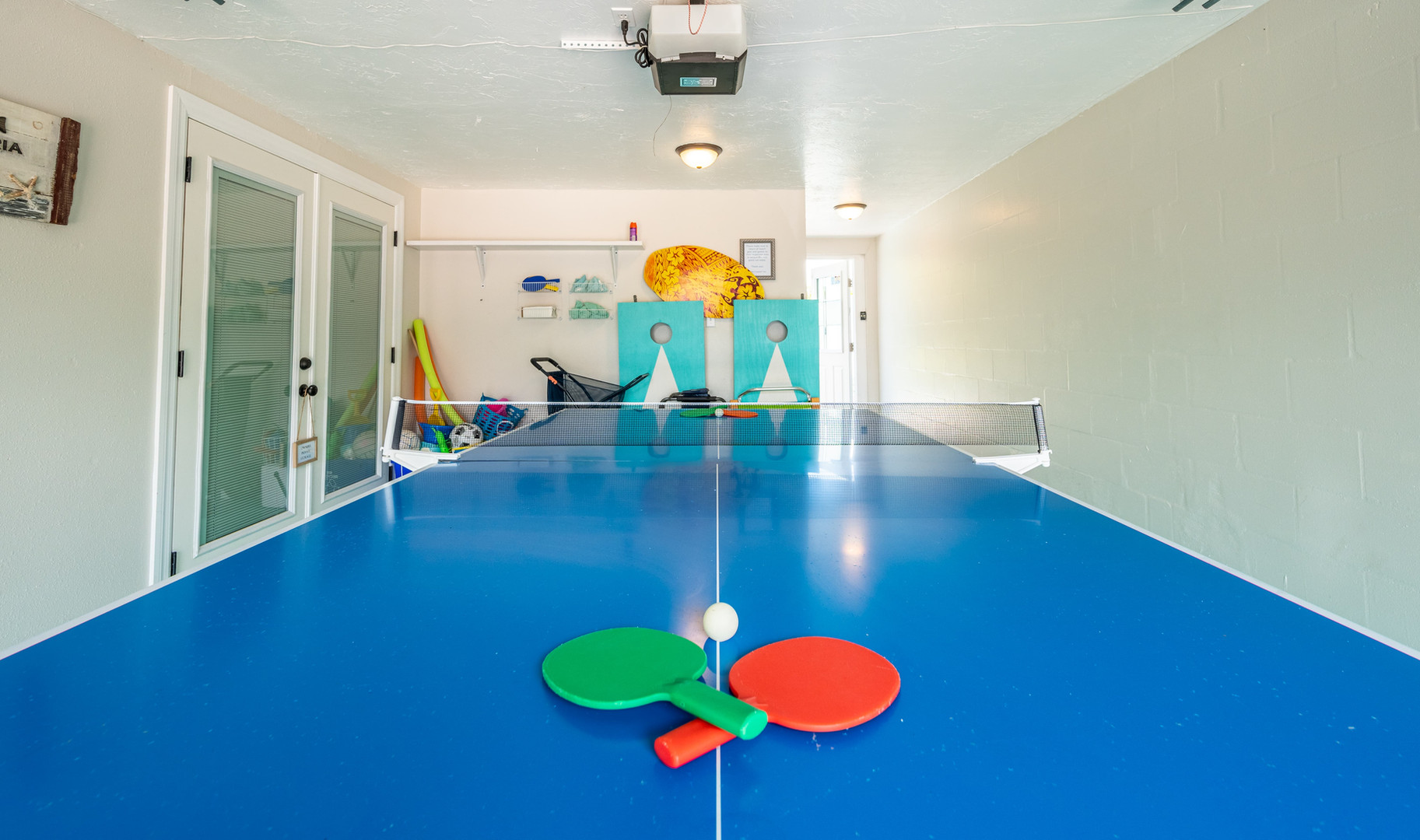 Ping pong and games