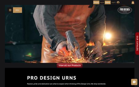 Pro Design Urns