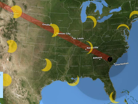 Total Eclipse in South Carolina – August 21!