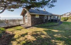 Back of Oceanfront Edgewater Manzanita House