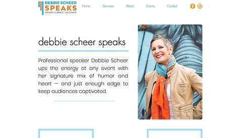 Debbie Scheer Speaks