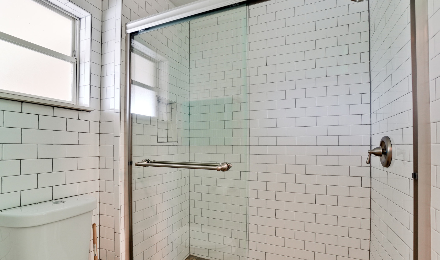 Recently updated shower