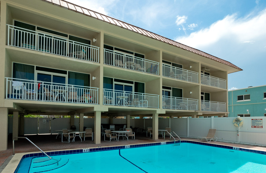 Pool and Balconies