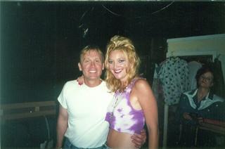 With Director Del Shores