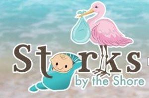 logo, beach, stork, baby