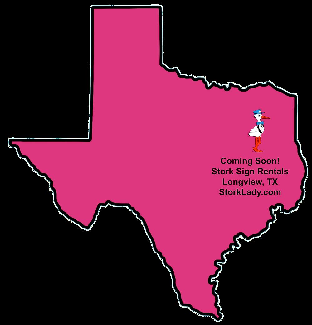 texas, map