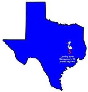 map, texas