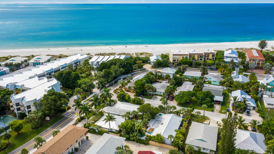 Island Garden Villas Aerial