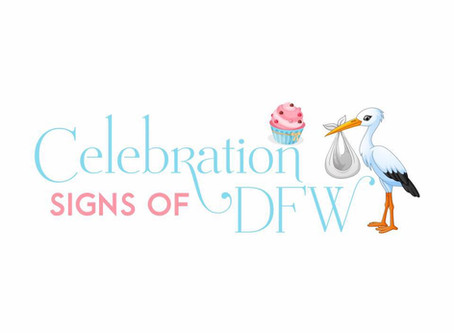 Celebration Signs of DFW ~ Stork Yard Sign Rentals Red Oak, Texas