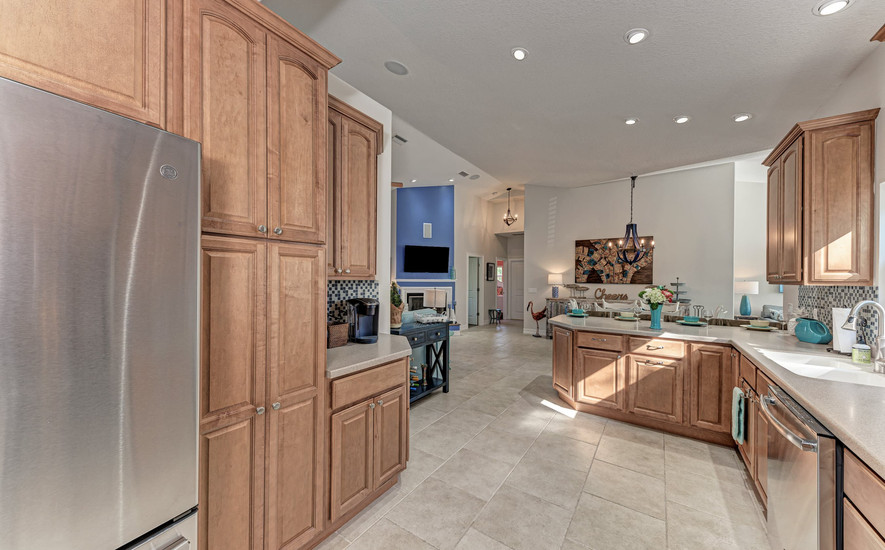 Refrigerator and Pantry Space