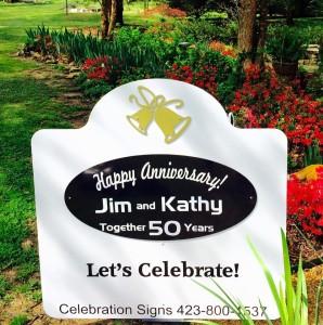 celebration sign, anniversary