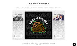 The DAP Project Transferred the website from GoDaddy to Wix.