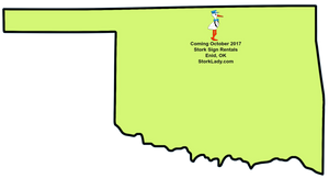 oklahoma, map