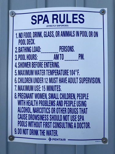 Spa rules