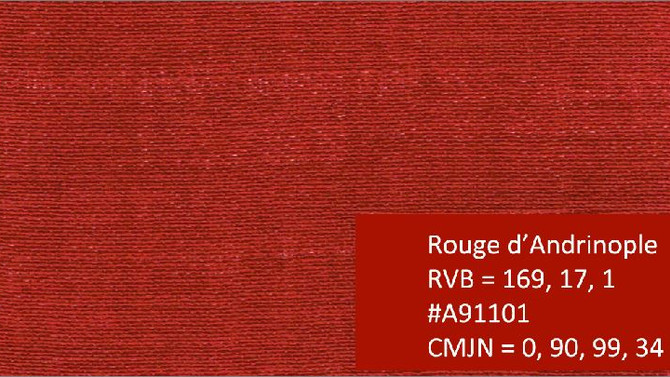 Rouge d'Andrinople
