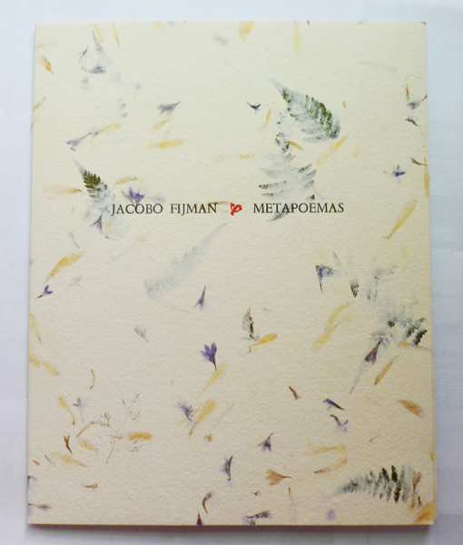 Cubierta edición papel Japón