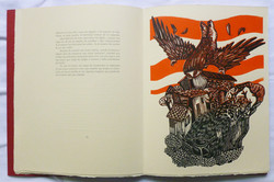 Página con grabado de Rubén D Acosta