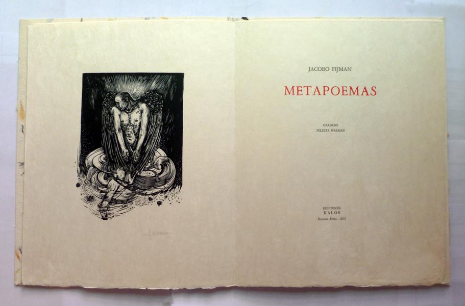 Frontis y portada ed. papel Japón
