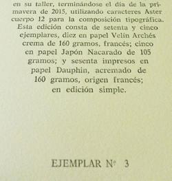 Detalle del Colofón.