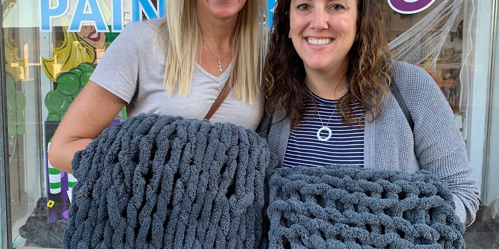 Crafts and Drafts - Chunky Blanket