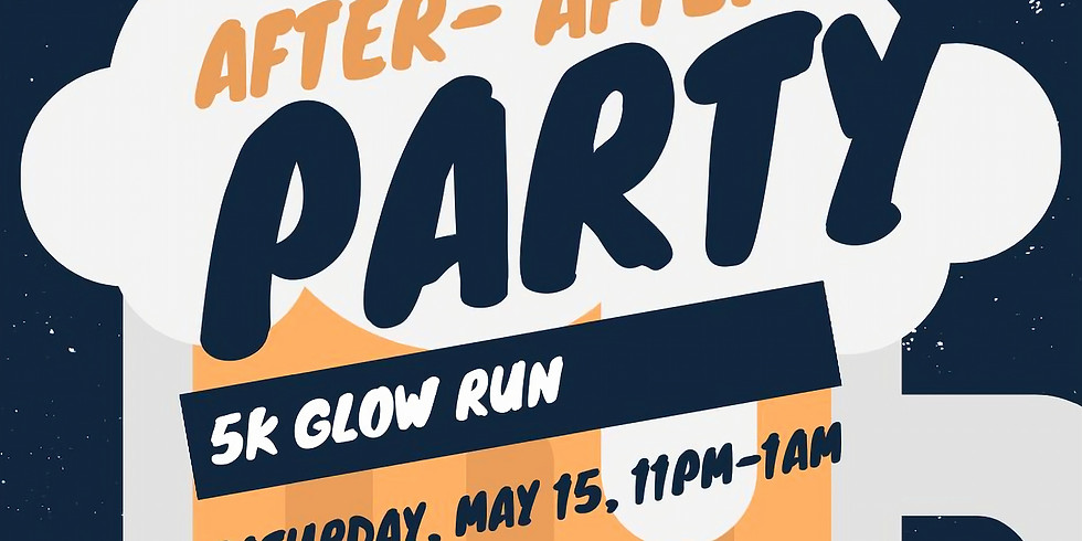 Glow run after party