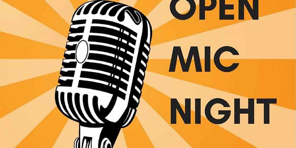 Open Mic Night - Click RSVP