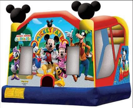 Mickey Mini Combo (Obstacle, Bounce, Slide)