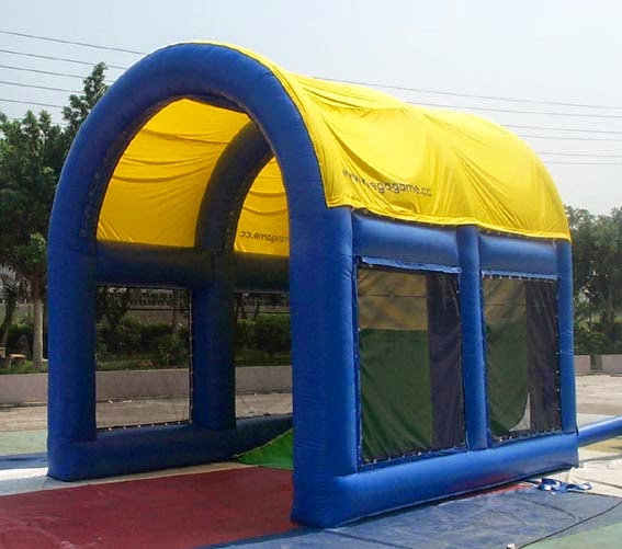 Marquee with Sports Cage