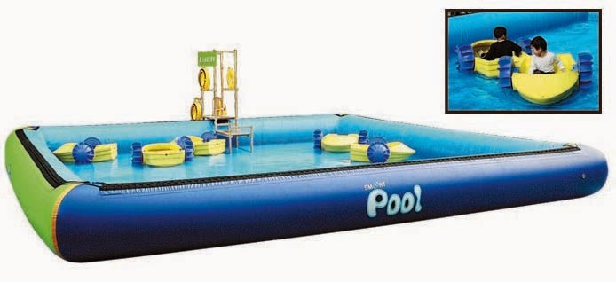 26' X 26' Smart Pool with Paddle Boats
