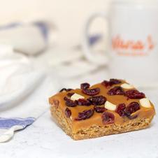 Cranberry & White Chocolate Flapjack