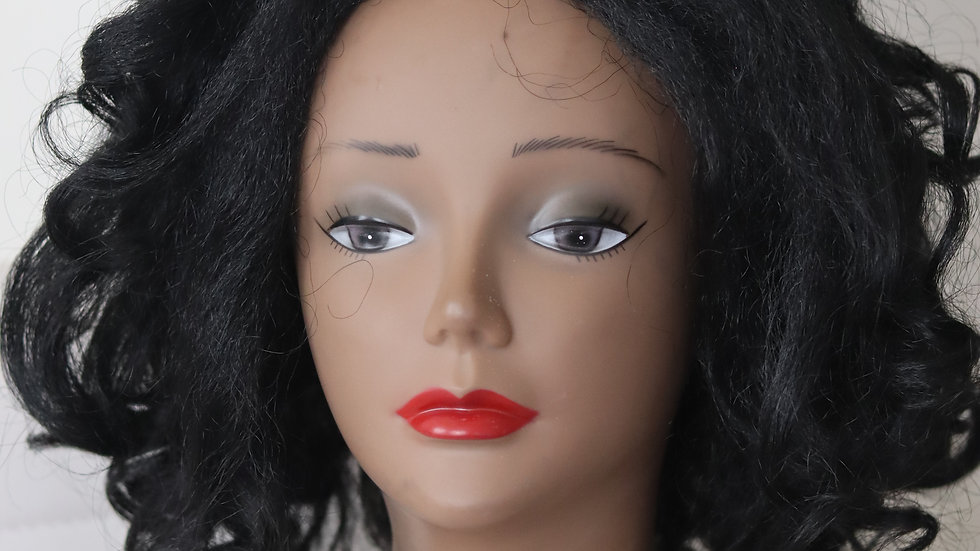 Boss Lady Half Wig - Brand new