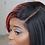 Thumbnail: Strawberry Split Lace Part bob
