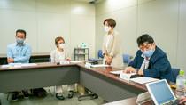 大田区との懇談会の議事録を掲載します