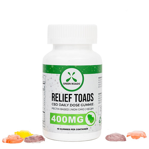 CBD Relief Toads - 400 mg