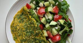 Vegan Chickpeas Omelette