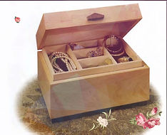 Wooden jewelery Box woodworkn
