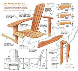 Woodworking plans for chairs DIY
