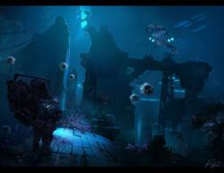 Entering the Sunken City