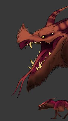 Dracos' Lizard