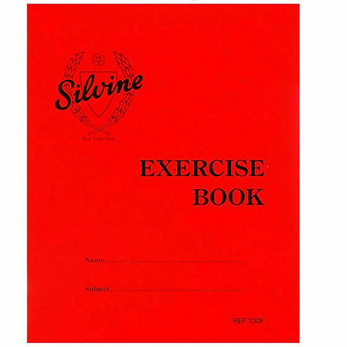 Silvine Exercise Book 130F Lined