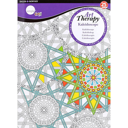 Art Therapy Colouring Kaleidoscope Large
