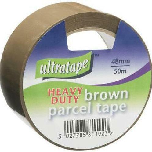 Ultratape Brown Parcel Tape