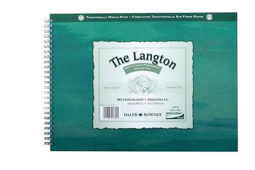 Daler-Rowney Langton Spiral NOT Pad 10 x 7''